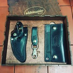This box set of Tradition Series Whiteknuckler products is packaged in a hand-made wooden case and makes a practical and beautiful gift for yourself or someone you love!