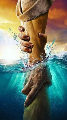 The directional love of God keeps us from sinking. Keep our hearts set on the Voice of His Son Jesus Christ. God Bless YOU! Christus Tattoo, Jesus Artwork, Jesus Drawings, Image Jesus, Jesus Photo, Pictures Of Jesus Christ, Pictures Of God, Cross Pictures, Religion