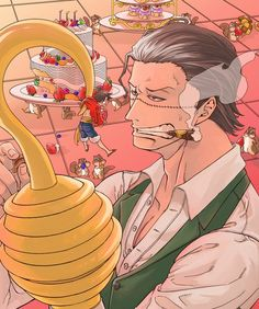 One Piece, Sir Crocodile, Luffy come visit my board it is called ''one piece anime'' it has collections of couples, gender bends, gifs and more