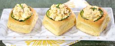 Turn your deviled eggs into these delicious sandwiches!