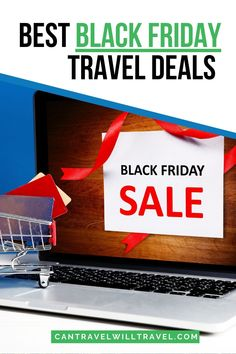 The best black friday travel deals. Grab yourself a travel bargain in the online Black Friday Sales. #BlackFriday #BlackFridayTravel #TravelSales #TravelDiscounts #TravelDeals #TravelBargains #CanTravelWillTravel Cyber Monday Flight Deals, Black Friday Travel Deals, Oregon, Arizona, Bag Essentials, Best Black Friday, California, Discount Travel, Travel Gifts