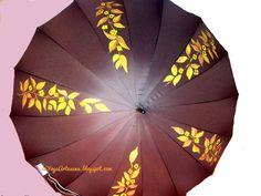 Hola de nuevo. Voy a continuar subiendo algunos de los paraguas que he pintado y que forman parte de la coleccion que he denomin...