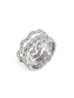 Fashion Rings: Statement, Stackable, Midi & More : Silver