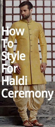 No efforts are put in by men to get the perfect look for haldi ceremony. So, here we have some outfit ideas for men. Indian Men Fashion, Mens Fashion, Haldi Ceremony, Indian Man, Outfits, Style, Moda Masculina, Swag, Man Fashion