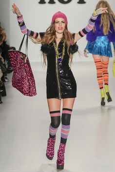 Betsey Johnson Fall 2014 Ready-to-Wear Collection Slideshow on Style.com... Love the energy at Betsey Johnson shows!!