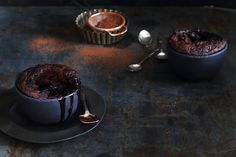 Self-saucing Boozy Chocolate Pudding. Featured in Crush Online