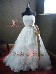 Wedding Dress Fantasy - Designer Inspired Wedding Dress Eliza, $1,375.00 (http://www.weddingdressfantasy.com/designer-inspired-wedding-dress-eliza/)