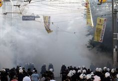 Turkey wants to produce tear gas domestically