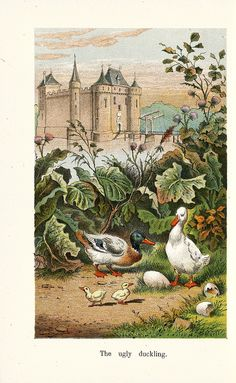 The Ugly Duckling - fairy tale by Hans Christian Andersen