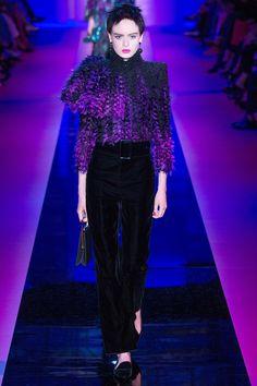 Armani Privé Fall 2015 Couture Runway