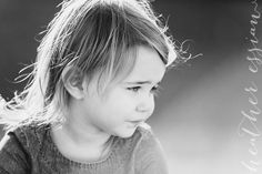Black & White children photography: Heather Essian