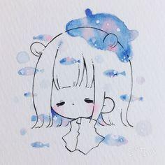 Cute Art, Illustration, Chibi, My Arts, Snoopy, Fictional Characters, Drawings, Art, Drawing Drawing