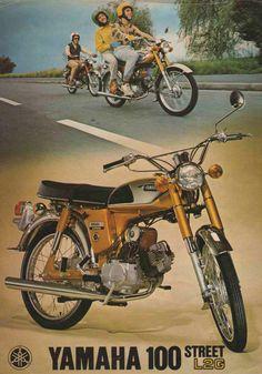 51 super Ideas for classic motorcycle drawing Dt Yamaha, Yamaha Motorcycles, Motorcycle Posters, Motorcycle Bike, Classic Motorcycle, Motorcycle Mechanic, Vintage Bikes, Vintage Ads, Vespa