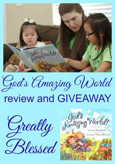 Greatly Blessed: God's Amazing World review & GIVEAWAY