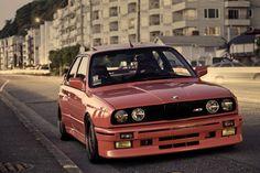 BMW M3 E30 Rot Vorne Fahrzeugscheinwerfer Autos