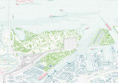 Fig.5 Fosbury Architecture, M.U.R.O, vista a volo d'uccello. Esposto alla Biennale Architettura 2016, Venezia
