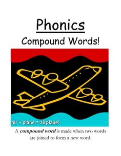 "Fern Smith's Phonics Center Game ""Compound Words!"" (Word Work / Spelling Unit)"