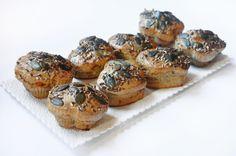 cottage-tuniakové muffiny