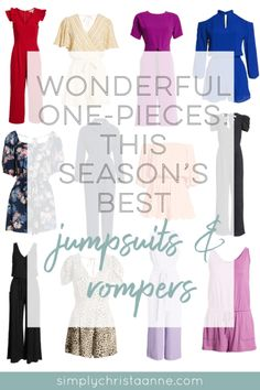 Wonderful One-Pieces: This Season's Best Jumpsuits & Rompers ~ Simply Christa Anne Fashion Group, Only Fashion, Fashion Beauty, Fashion Tips, Club Fashion, Fashion Ideas, Mom Brain, Clothing Blogs, Mom Style