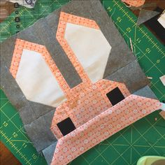 Bunny    With more then 40 pieces in each block, the Bunny is a bit of a test of patience and accuracy.