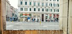 Trieste. Piazza Goldoni. TriesteSocial Urban Life Urban Landscape Streetphotography Motorola The EyeEm Facebook Cover Challenge Eyem Gallery Fountain
