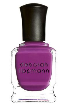 Deborah Lippmann Nail Color available at #Nordstrom $17-$19 -single ladies (oxblood red color) OR -lady is a tramp (another dark red color