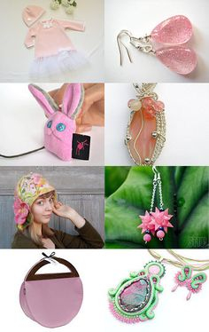 Lovely Pastel Pink collection. :) by poletsy on Etsy--Pinned with TreasuryPin.com