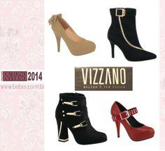 Vizzano: a nova coleção de Outono/Inverno 2014  está recheada de tendências, cores, texturas e modelos que prometem agradar. https://www.facebook.com/lojasbeber