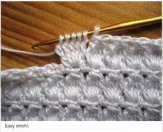 Cluster /bobble stitch