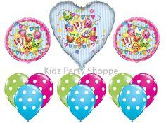 SHOPKINS BALLOON SET Birthday Party Balloons Decorations Supplies Centerpiece