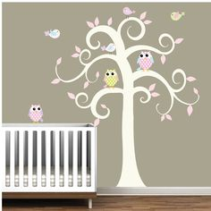 A cute idea I am thinking about for our nursery.
