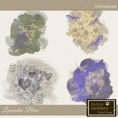 Lavender Blue   Stamps