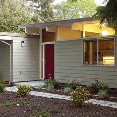 Midcentury Exteriors Design Ideas, Pictures, Remodel and Decor