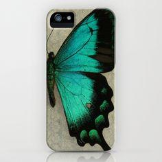 Papillon  iPhone Case by KunstFabrik_StaticMovement Manu Jobst - $35.00