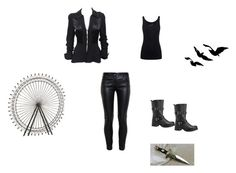 """""""me in dauntless"""" by creative-with-fashion ❤ liked on Polyvore featuring moda, Balenciaga, Ossie Clark, Juvia, Avenue, women's clothing, women, female, woman ve misses"""