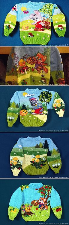 I would love to knit like this...