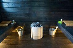 sauna Electric Sauna Heater, Sauna Shower, Traditional Saunas, Sauna Room, Spa Rooms, Western Red Cedar, Soapstone, Garden Furniture, Simple Designs