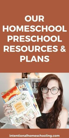 OUR PRESCHOOL PLANS - resources we are using with the three year old for preschool Preschool Plans, Preschool Curriculum, Homeschooling, Step Parenting, Parenting Hacks, Preschool Journals, Book Outlet, Clean Book, Vocabulary Building