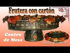 FRUTERA CON BIDÓN PLÁSTICO Y CARTÓN - YouTube
