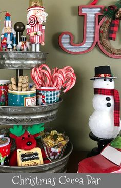 Hot Cocoa Bar Ideas. Make your home warm and cozy this Christmas season with a Hot Cocoa Bar. 30 plus Hot Cocoa Bar Ideas
