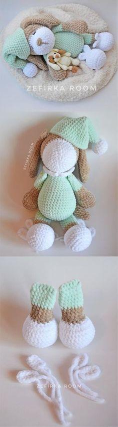 Mesmerizing Crochet an Amigurumi Rabbit Ideas. Lovely Crochet an Amigurumi Rabbit Ideas. Crochet Tutorial, Quick Crochet Patterns, Amigurumi Tutorial, Amigurumi Patterns, Crochet For Kids, Knitted Dolls, Crochet Dolls, Crochet Yarn, Yarn Projects