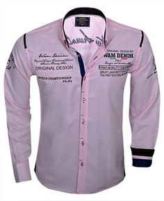 Wam Denim overhemden, de nieuwste collectie staat weer online bij Italian Style