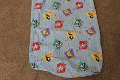 Baby Looney Tunes Toddlers Character Crib Sheet Tweety Sylvester Bugs Bunny 2000