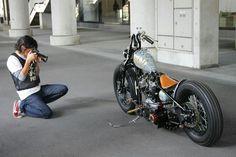 Bobber Motorcycle, Bobber Chopper, Motorcycle Design, Used Harley Davidson, Harley Davidson Bikes, Hot Bikes, Choppers, Custom Bikes, Cars And Motorcycles