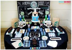 Starbucks birthday party! See more party planning ideas at CatchMyParty.com!