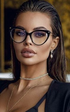 Most Beautiful Faces, Bold And The Beautiful, Beautiful Eyes, Gorgeous Women, Beautiful Models, Amazing Women, Girl Face, Woman Face, Girls With Glasses