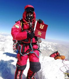 Indian army's 10 para special forces operative on Mt.Everest[893  1024]