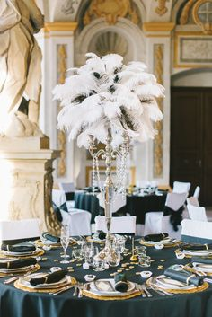 A party . - Life Is Full Of Goodies - Our wedding. A party … -Our wedding. A party . - Life Is Full Of Goodies - Our wedding. A party … - 20s Wedding, Art Deco Wedding, Glamorous Wedding, Princess Wedding, Wedding Themes, Wedding Table, Party Wedding, Gatsby Wedding Decorations, Tent Wedding