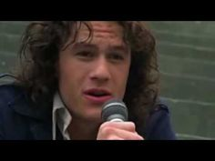 "Heath Ledger Sings ""can't take my eyes off you"". favorite part<3"