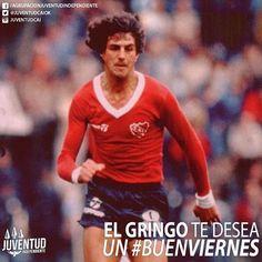 Buenos días a todos los rojos!! #BuenViernes! #RicardoGiusti, #IdolosIndependiente, #Independiente Fifa, Graphic Sweatshirt, T Shirt, Baseball Cards, Sweatshirts, Long Sleeve, 1984, Instagram Posts, Sleeves